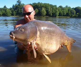 Ribiere, Domain de la Ribiere, Big Carp, Big Carp France, French Holiday Fishing, Fishing in France, Carp Fishing France,